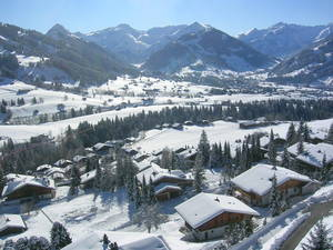 Gstaad from Rellerli photo