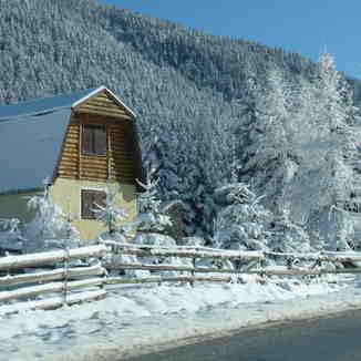 Slika iz auta, Vlašić