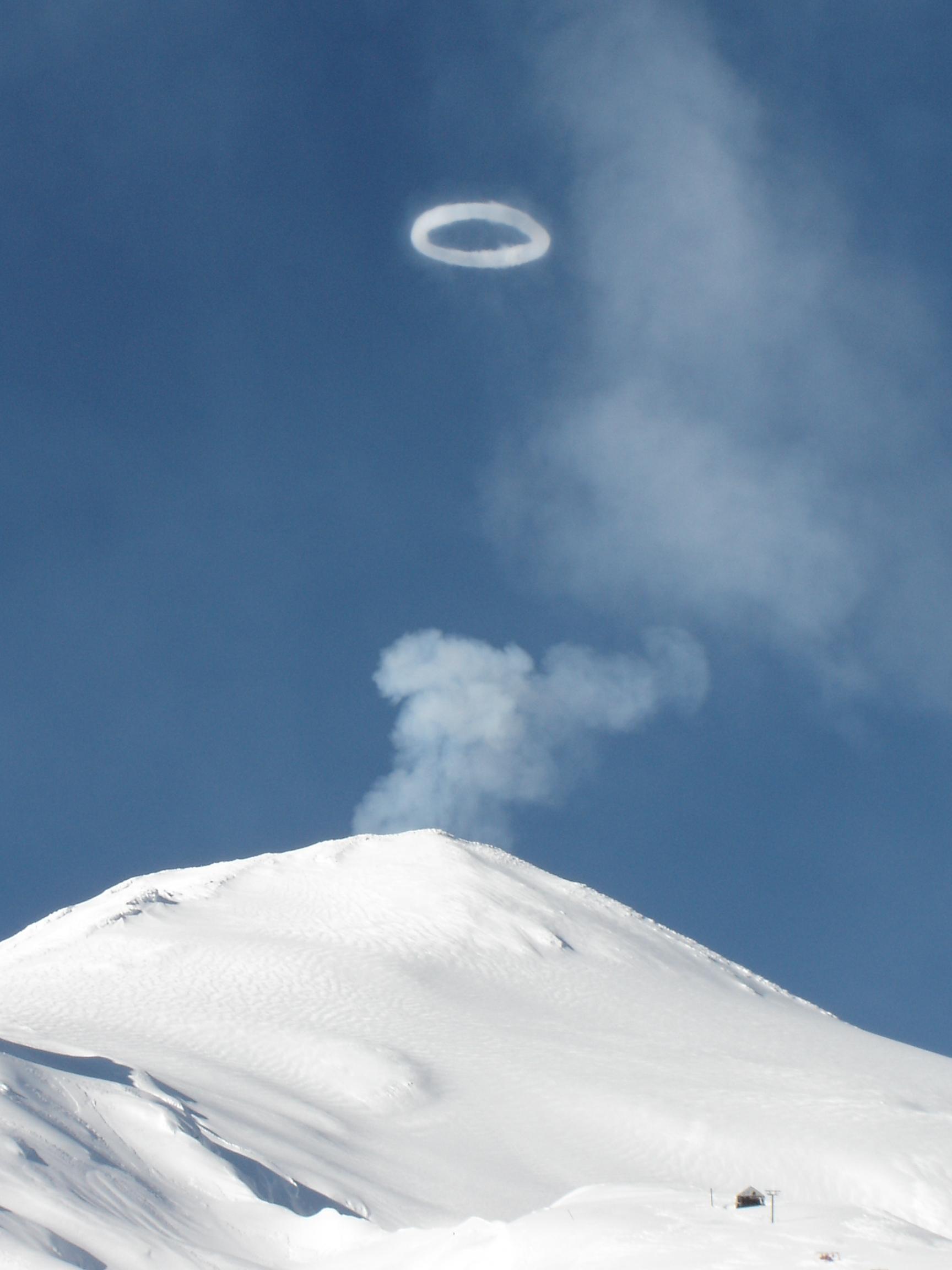 Anillo de gases, Villarrica-Pucon