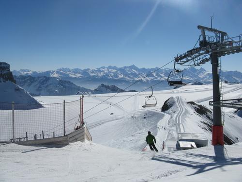 Les Diablerets Ski Resort by: Eduardo Pereira