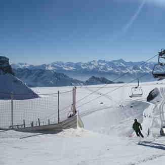 Glacier 3000, Les Diablerets