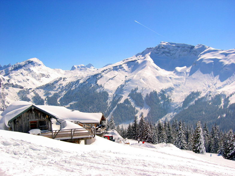 View of Hauts Forts, March 2006, Avoriaz