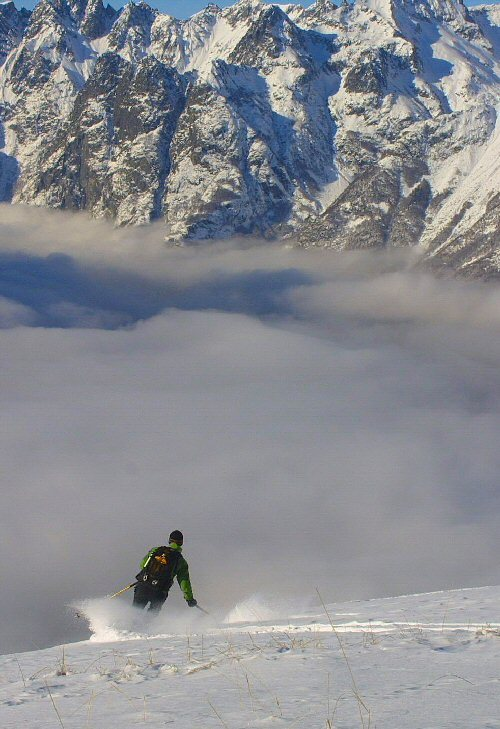 Cloud Ocean, Alpe d'Huez