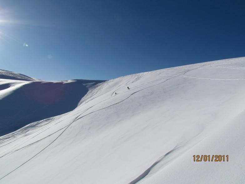 Pylypets snow