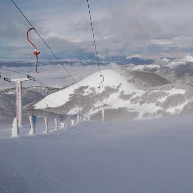 Top of Terminilluccio Lift, Terminillo