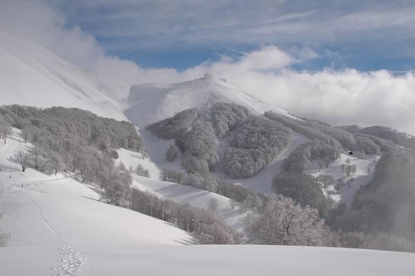 Monte Cardito's top view, Terminillo