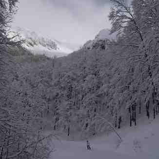 The now closed North Face run of Cardito Sud, Terminillo
