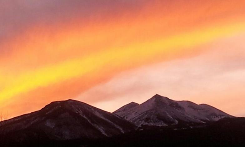 Sunset of Mt.Norikura 29.Nov 2011, Mt Norikura
