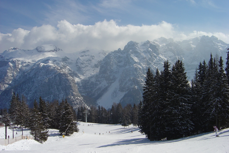 View to a thrill, Folgarida-Marilleva