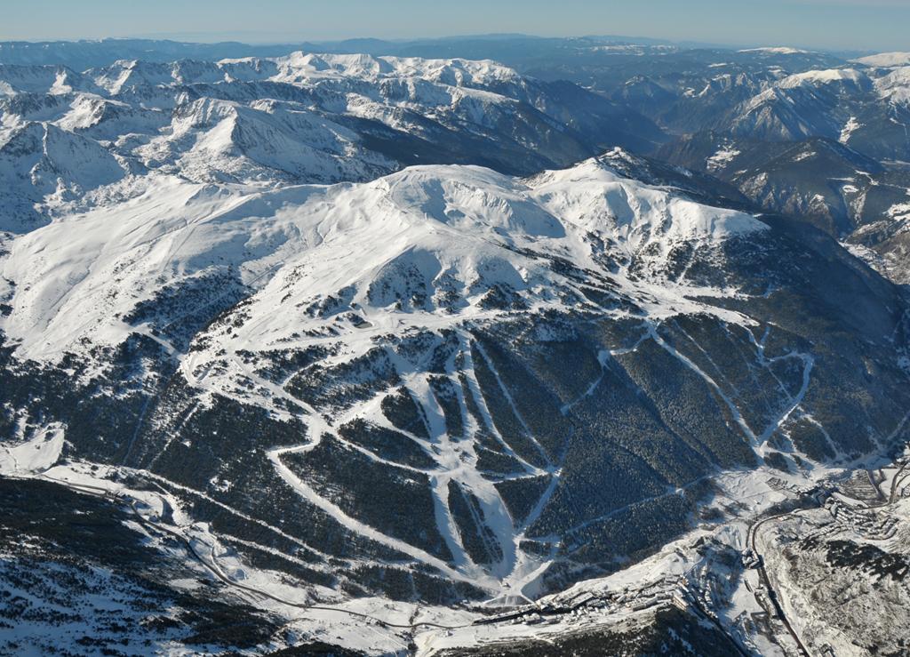 skiing area +FIS world cup run, Grandvalira-Soldeu