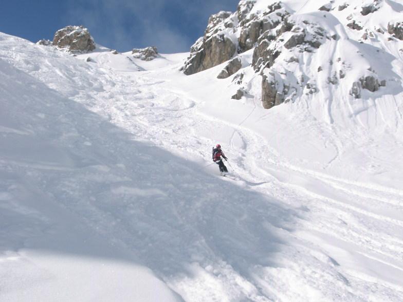 Edward on the Weissflugipfil above Davos