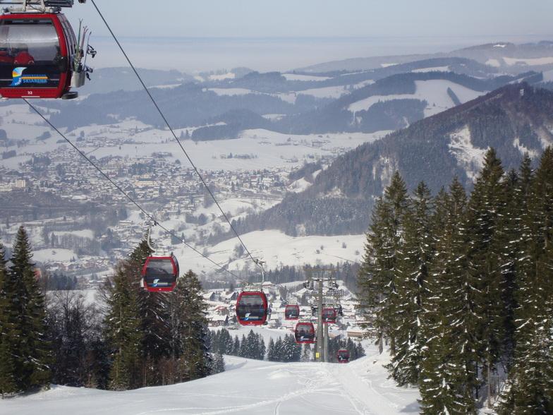 Oberstaufen Ski Resort Guide, Location Map & Oberstaufen ski