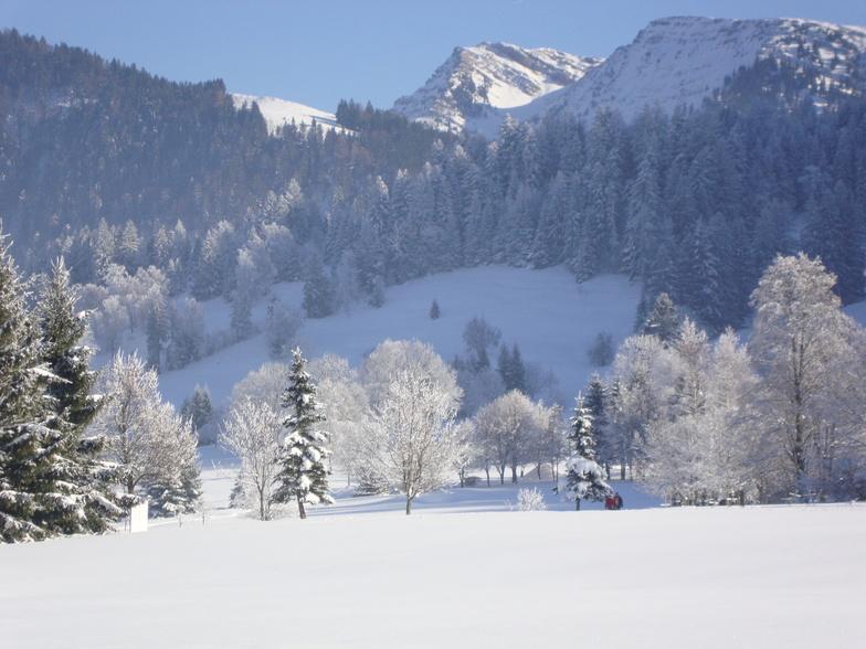 The great outdoors, Oberstaufen