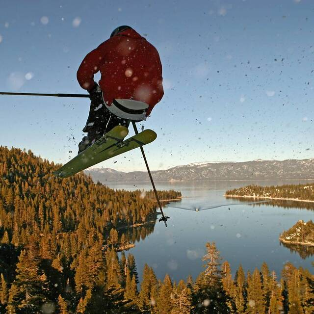 bad roo above Emerald Bay, Lake Tahoe, Mt Rose Ski at Tahoe