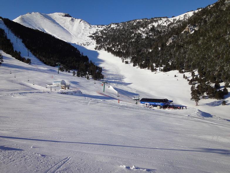 Espot Esqui view from Cafeteria, Espot Esquí