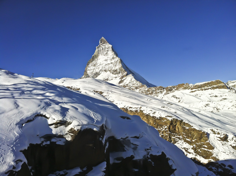 view from Gondola, Zermatt