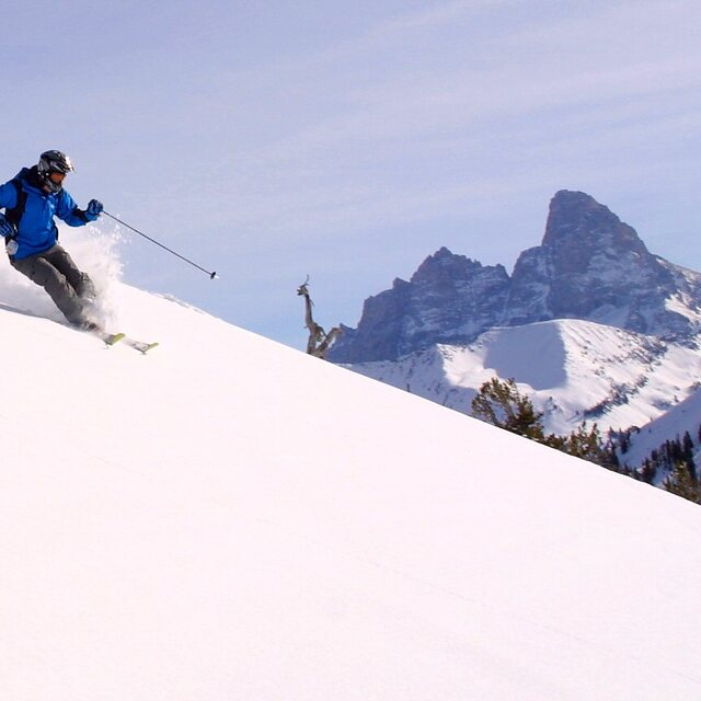 Roo at Targhee, Grand Targhee