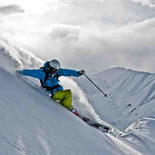 Carving The Mountainside, Last Frontier Heliskiing