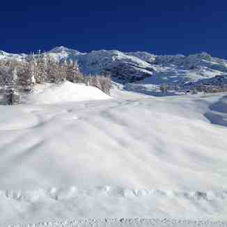 Pistes are ready!, Sainte Foy
