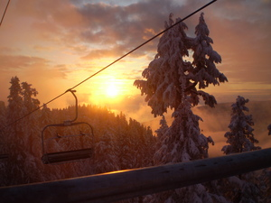 Peak Chair, Grouse Mountain photo