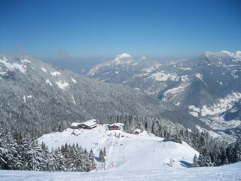 Saint-Jean d'Aulps La Grande Terche snow