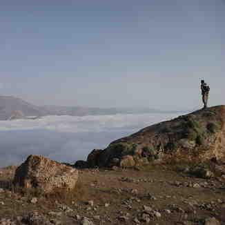 OVER CLOUDS, Mount Damavand