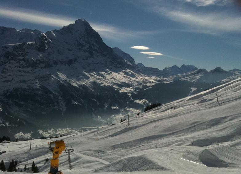 Kleine Scheidegg from Grindelwald, Wengen