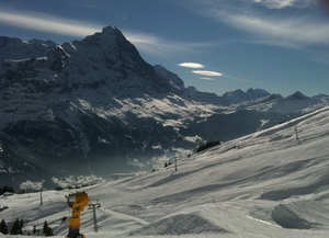Kleine Scheidegg from Grindelwald, Wengen photo