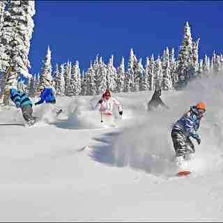 last year on corkscrew, Big White