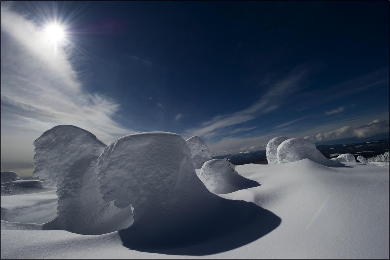 snow ghost, Big White