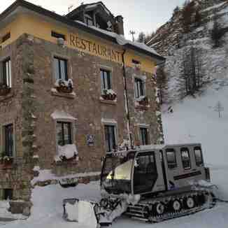 restaurant for ski, La Thuile