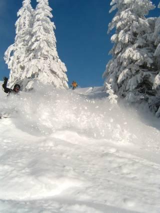Saint-Jean d'Aulps La Grande Terche Ski Resort by: Louise Christmas