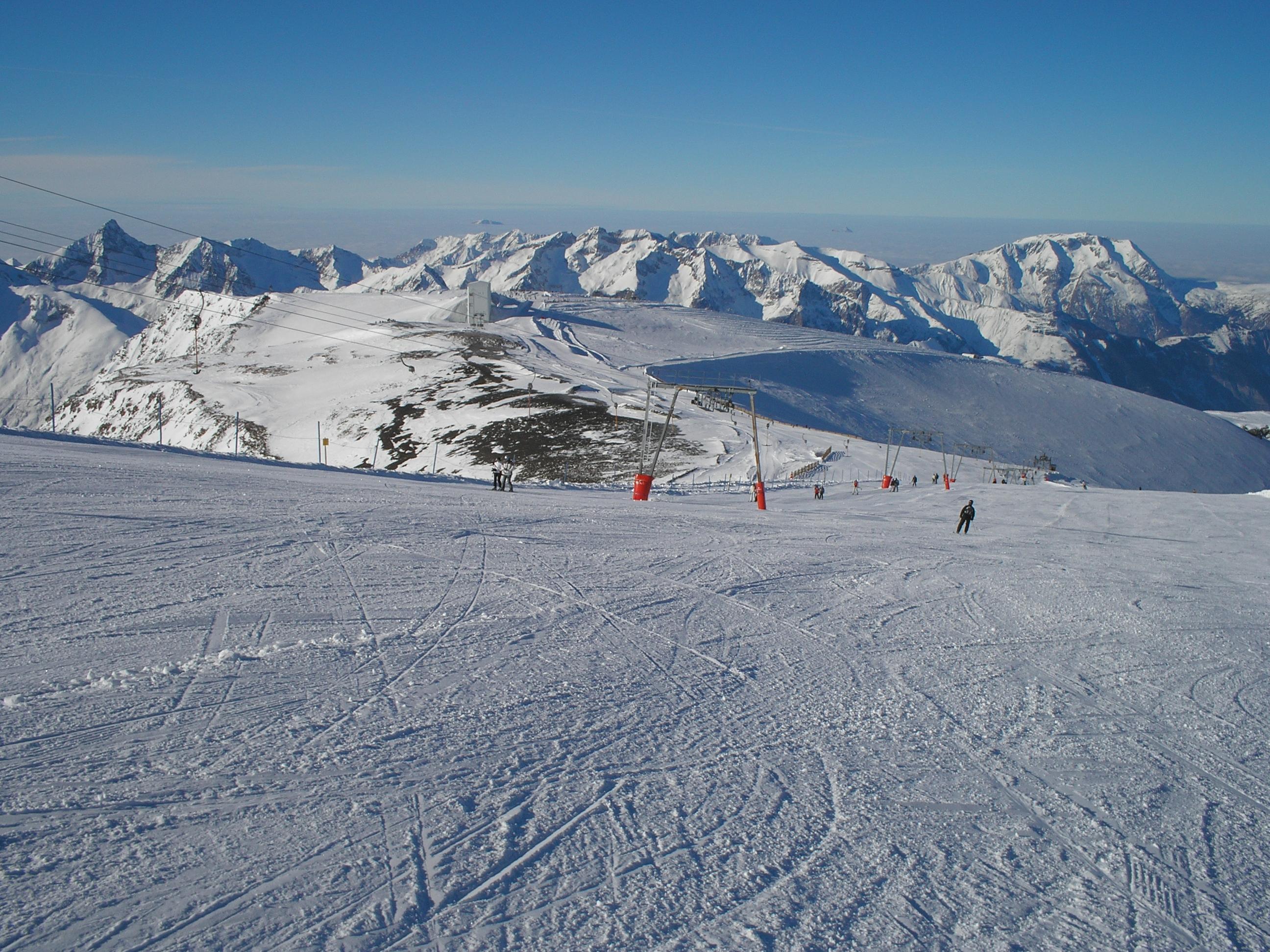 Les Deux Alpes 1 January 2011, Dôme de la Lauze (3.568 m)