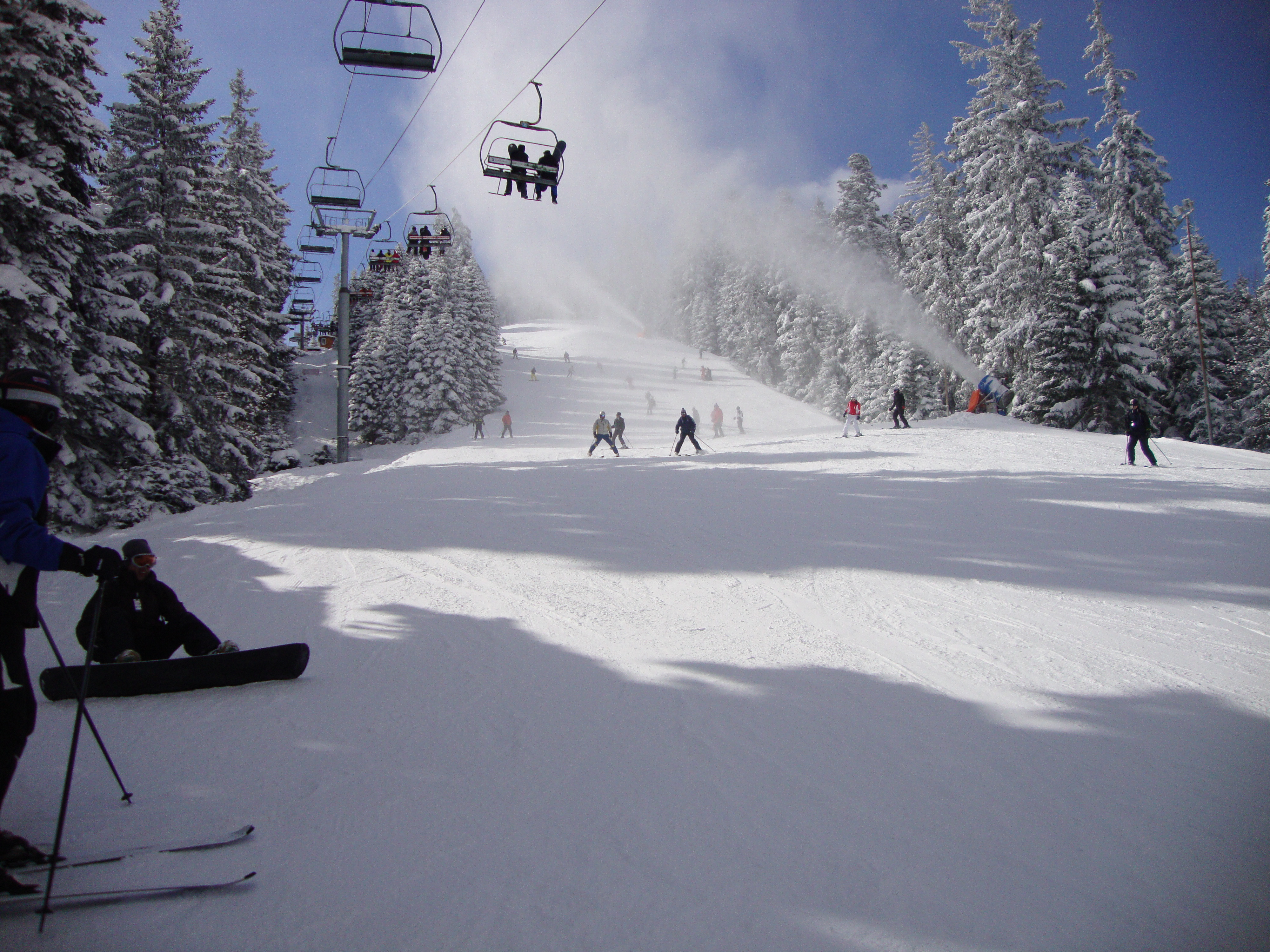 up up and away !!!, Borovets