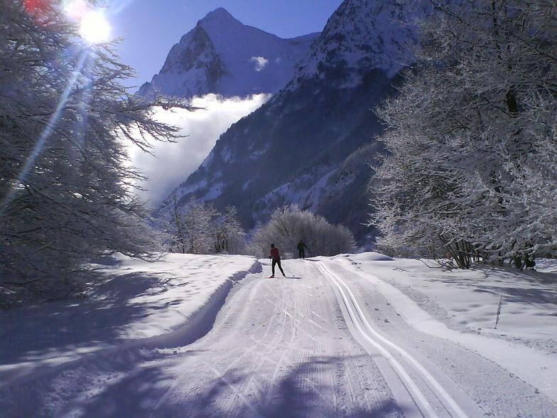 Cross country ski pistes, Col d' Ornon