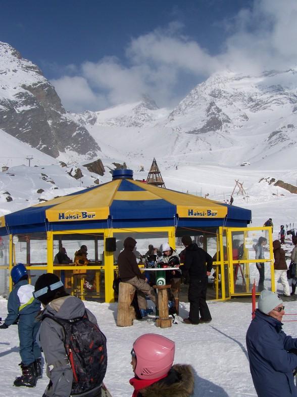 Saas Grund snow