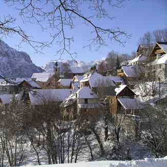 Picturesque old village of Villard Reculas, Villard-Reculas