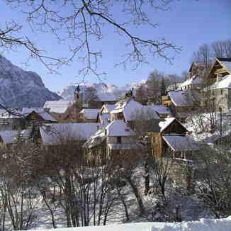 Picturesque old village of Villard Reculas, Villard-Reculas
