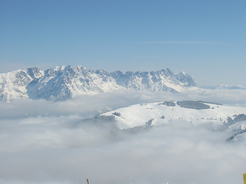 View from the Hohe Salve, Söll