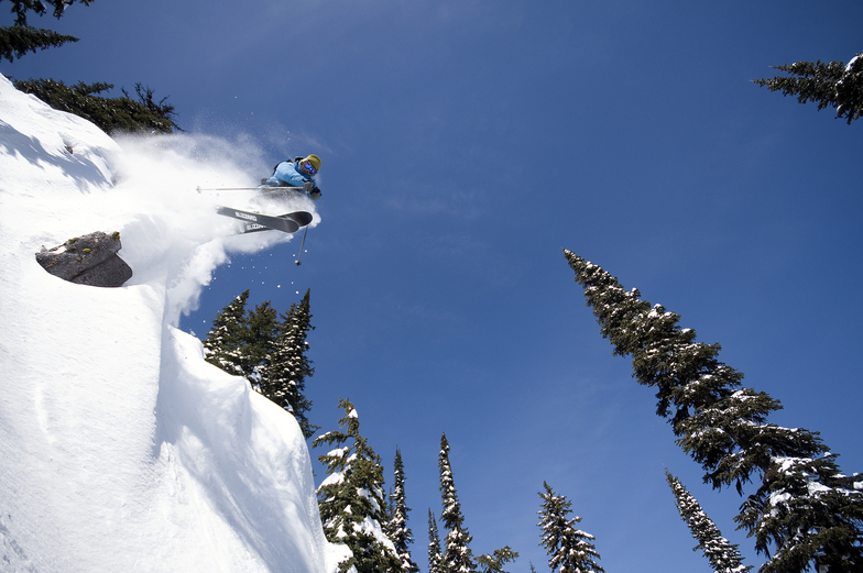 Cliff Powder, Red Mountain Resort