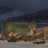 Columbia Ave. in Rossland, BC, Red Mountain Resort