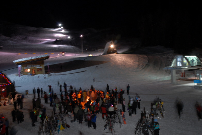 Night Skiing, Red Mountain Resort