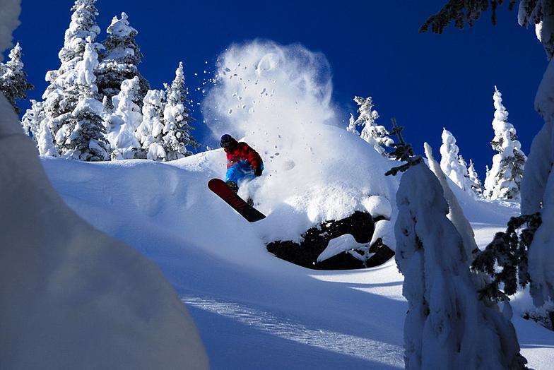 Powder Board, Red Mountain Resort