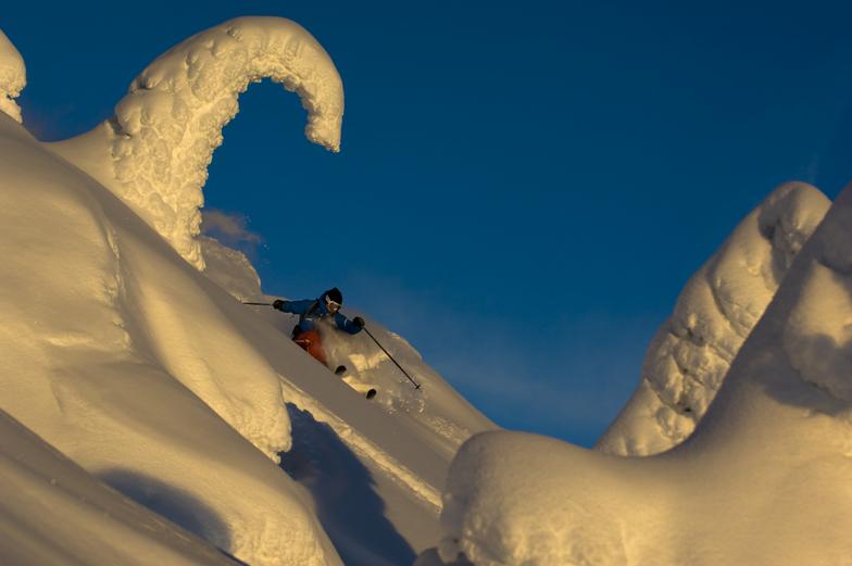 Powder Turns, Red Mountain Resort