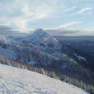 View of Mt.Cartier from RMR, Revelstoke Mountain Resort
