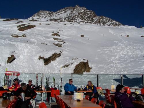 Saas Grund Ski Resort by: Monique