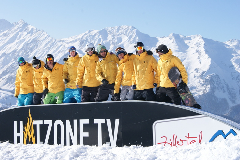 Team Hotzone School of Snowboarding, Gerlos