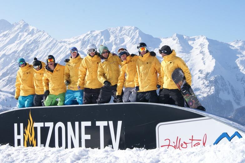 Team Hotzone School of Snowboarding, Gerlos