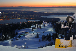 Fading Light, Grouse Mountain photo