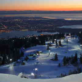 Fading Light, Grouse Mountain